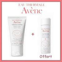 Offre Avène Tolérance extrême Crème Hydratante 50ml + Avène Eau Thermale 50ml Offert