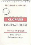 Klorane Dermo-pain Peaux Allergiques Sans Parfum ni Conservateur (100 Grs)