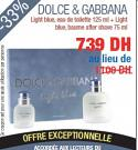 Promotion DOLCE & GABBANA Light blue eau de toilette 125 ml + Light blue baume after shave 75 ml