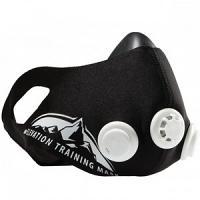 Masque d'entraînement d'élévation 2.0 Noir-Blanc Taille: M