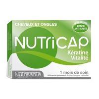 Nutrisante Nutricap Kératine - Vitalité 30 Capsules