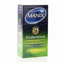 Manix Endurance 14 Préservatifs