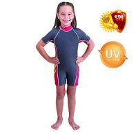 Maillot de bain Vêtements de protection UV UPF40+ pour enfants M-L de 5 à 6 ans de 100 à 110 cm
