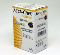 Lancettes Accu-Chek Softclix 200 Unités