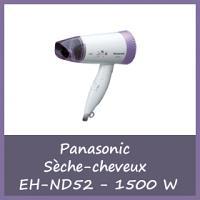 Offre Panasonic Sèche-cheveux EH-ND52 de 1500 W