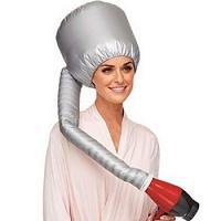 Bonnet Séchoir en Nylon avec Attachement pour Sèche Cheveux