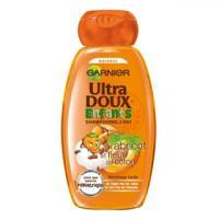 Garnier Ultra DOUX Enfants À l'Abricot et Fleur de Coton Shampooing 2 en 1 Réf : 3600541177628