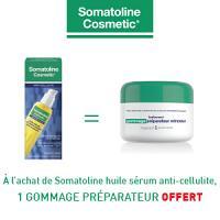Somatoline traitement huile sérum anti-cellulite intensive 125ml = Somatoline gommage préparateur offert