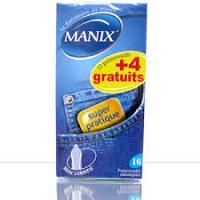 Promotion Manix Préservatifs Super Pratique ( 12+ 4 Préservatifs Offerts )