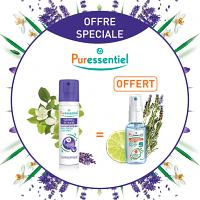 Pack Puressentiel Sommeil Détente Spray Aérien 75ml + Lotion Spray Anti-bactérien 25ml OFFERT