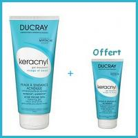 Offre Ducray Keracnyl Gel Moussant 200ml + Ducray Keracnyl Gel Moussant 40ml Offert