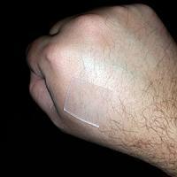 ScarFx pansement en silicone collant 2.5x2.5 cm