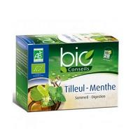 Yves Ponroy Bio Conseils Infusion Tilleul - Menthe 20 Sachets
