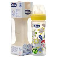 Chicco Biberon PP Tétine Flux Variable 330 Ml 4 Mois +