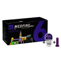 Wellion Medfine Plus 0,25mm (31G) x 6mm