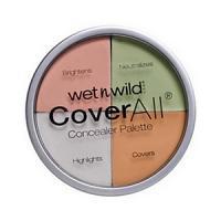 Wet n wild cover all concealer palette - palette correcteur Réf : E61462