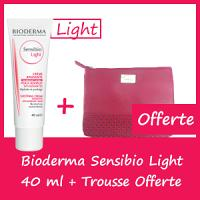 Offre Bioderma Sensibio LIGHT 40ml - Trousse Offerte
