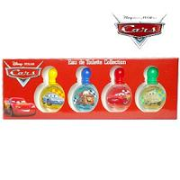 Liquidation de stock Air-val Cars miniatures eau de toilette 4x 7ml