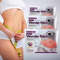 wonder Patch pour Ventre Wing Abdomen Traitement Perte de Poids Produits Fat Burning Minceur Corps 5 patchs