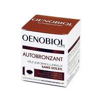 OENOBIOL Autobronzant Hâle uniforme et lumineux sans soleil Boite de 30 capsules