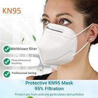 5 Masque de protection KN95 4 couches BFE +95%