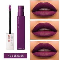 Maybelline Superstay Matte INK  (40 Believer)