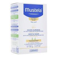 Liquidation de Stock Mustela Bébé Savon Surgras 150 g EXP : 06/19