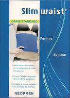 slim waist ceinture à effet sauna chauffante et transpirante