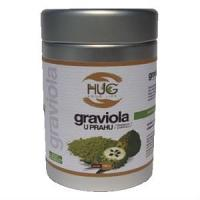 """HUG your life graviola (Annona muricata) Poudre """"Complément alimentaire"""" 100G"""