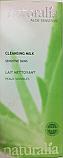 Naturalia Lait nettoyant visage peaux sensibles aloe sensitive (250 ml)