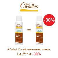 Rogé Cavaillès déodorants dermato spray lotx2, 2 ème à -30%