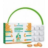 Puressentiel Pastilles respiratoire aux 3 miels aromatiques 24 Pastilles
