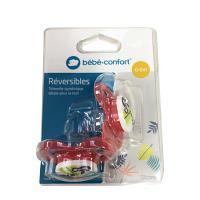 Bébé Confort Sucette réversible Jungle Vibes 0-6 M  X2 - Choix Couleur