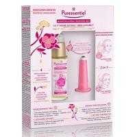 Puressentiel coffret home lifting elixir essentiel + ventouse lift vac