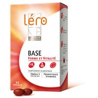 Liquidation de Stock Léro Base Réduction de la fatigue 42 capsules EXP:11/19