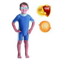 Pack Bestway Maillot de bain + Lunettes de natation uv protect (3 à 4 ans)