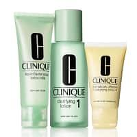 Clinique Basic 3 Temps Kit d'Initiation Types 1