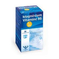 Yves Ponroy Magnésium et vitamine B6 30 Comprimés