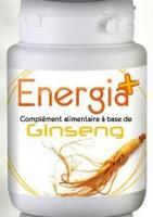 Energia+ Complément alimentaires à base d'extrait de Ginseng 6O Gélule