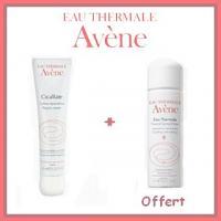 Offre Avène Cicalfate Crème Réparatrice (40 ml) + Avène Eau Thermale 50ml Offert