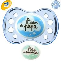 Dodie Sucette Physiologique Silicone +6 Nuit40
