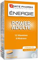 Forte pharma energie power adulte, 12 vitamines, 9 mineraux, 28 comprimes