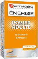 Forte pharma energie power adulte, 12 vitamines, 9 mineraux, 28 comprimes