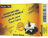 Racine Vita savon naturel de graine de nigelle 80gr