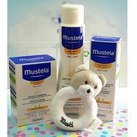 Mustela pack cadeau mon nécessaire peau sèche hochet Offert