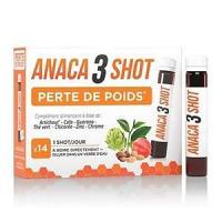 ANACA3 Shot Perte de Poids Liquide 350 ml (14 jours)