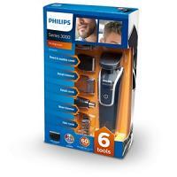 Philips QG3342 Multigroom série 3000 6-in-1 tondeuse à cheveux et Barbe