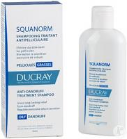 Ducray Squanorm Shampooing Traitant Pellicules Grasses (200 ml)