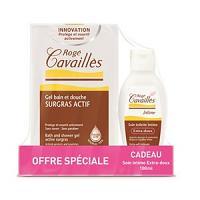 Offre Rogé Cavaillès gel douche classique 300ml + gel intime extra-doux 100ml offert