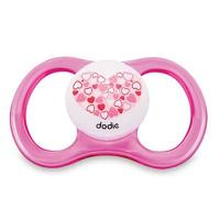 Dodie Sucette Air +6mois Fille R52 Rose Coeur